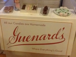Guenards Candy Store | exhibit | Douglas County Historical Society