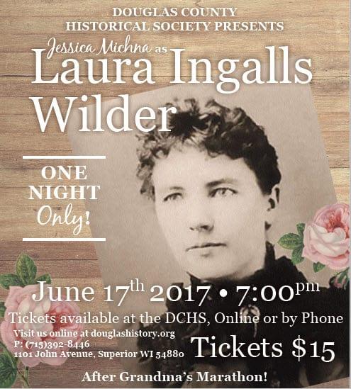 Laura Ingalls Wilder – Douglas County Historical Society