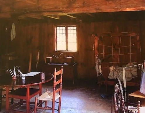 Jessica Michna interior of Rebekka House