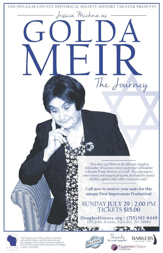 Golda Meir by Jessica Michna