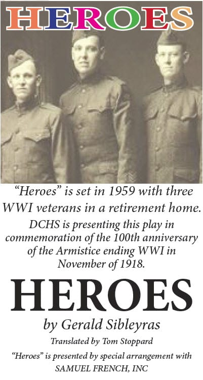heroes post card pic